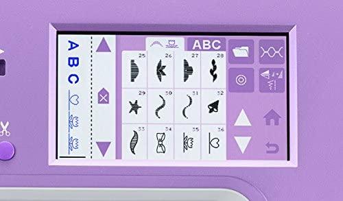 Computerized Sewing Machine Interface