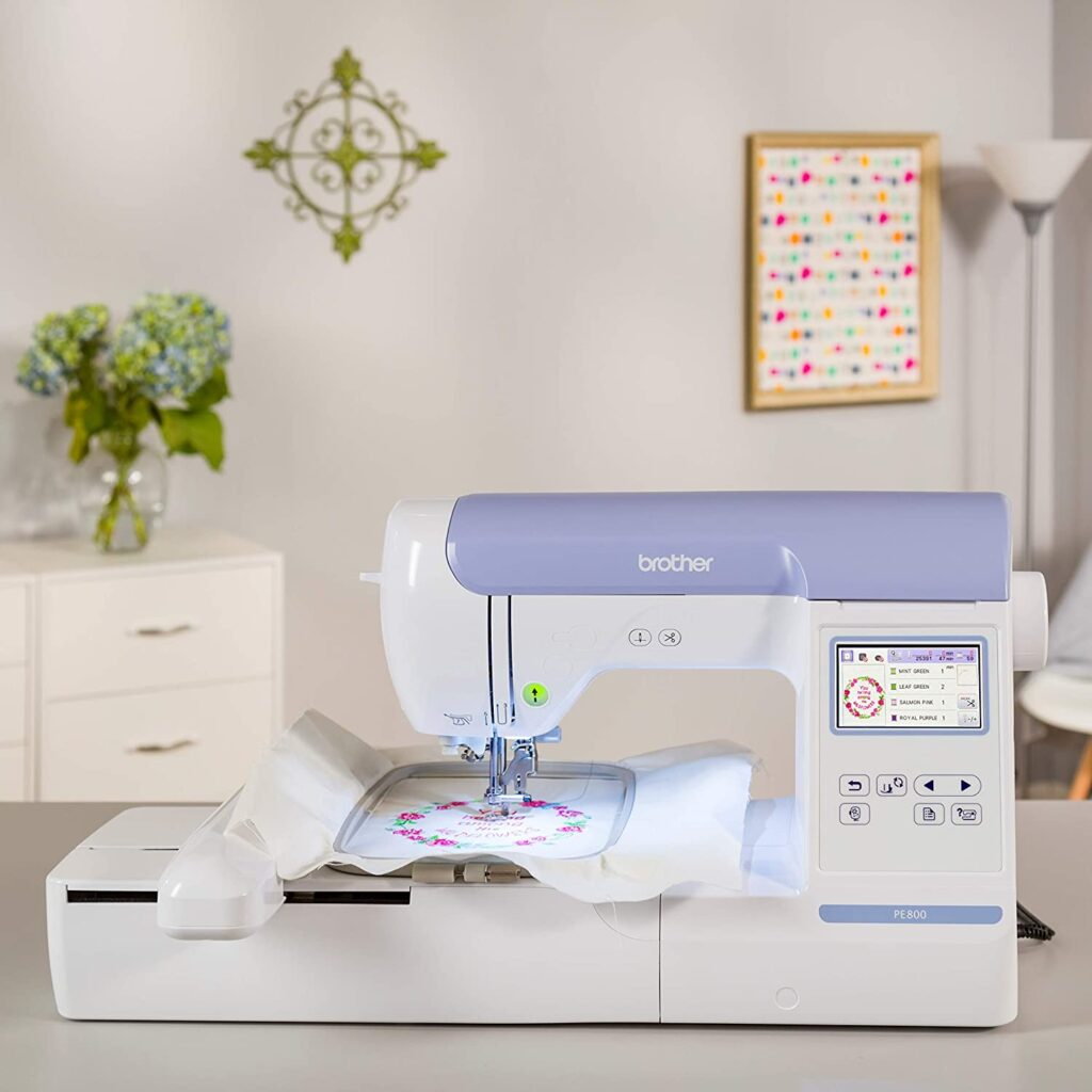 Brother Embroidery Machine PE800
