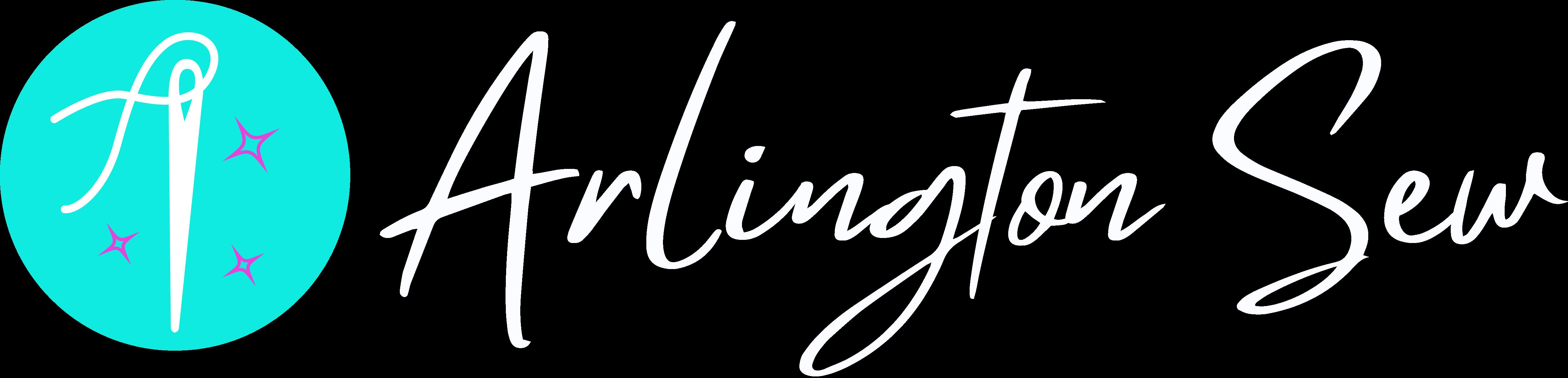 Arlington Sew White Logo
