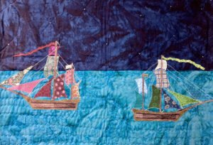 Two Ships in the Night Quilt