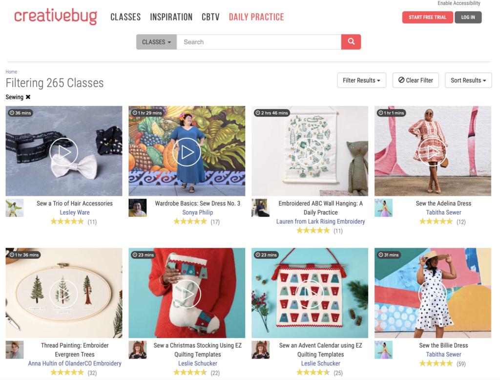 Creativebug Quilting Classes