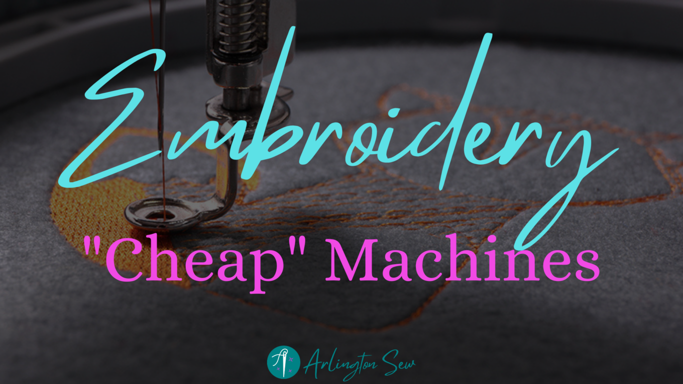 Cheap Embroidery Machines