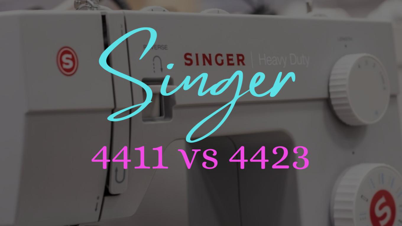 Singer 4411 vs Singer 4423