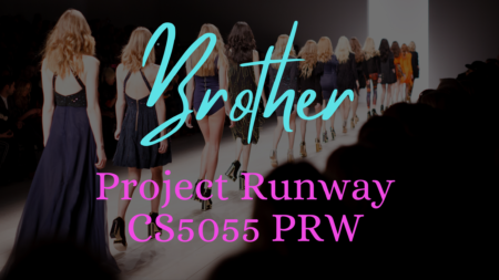 Brother Project Runway CS5055PRW