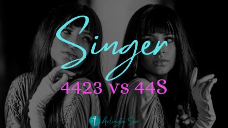 Singer 4423 vs 44S