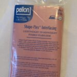 Fusible interfacing by the package