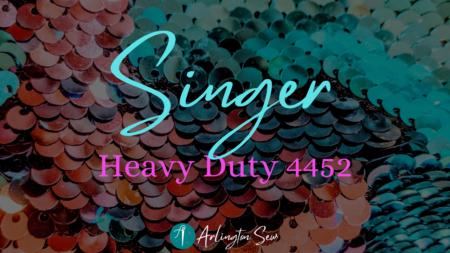 Singer 4452 Review